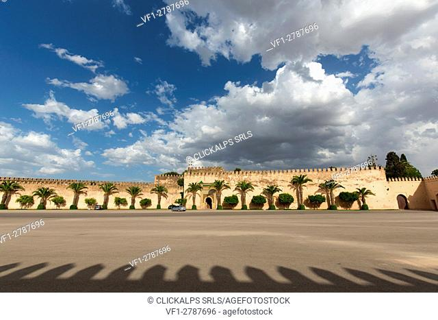 North Africa,Morocco,Meknes district. Royal Palace