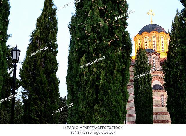 Gracanica monastery in Trebinje, Bosnia and Herzegovina