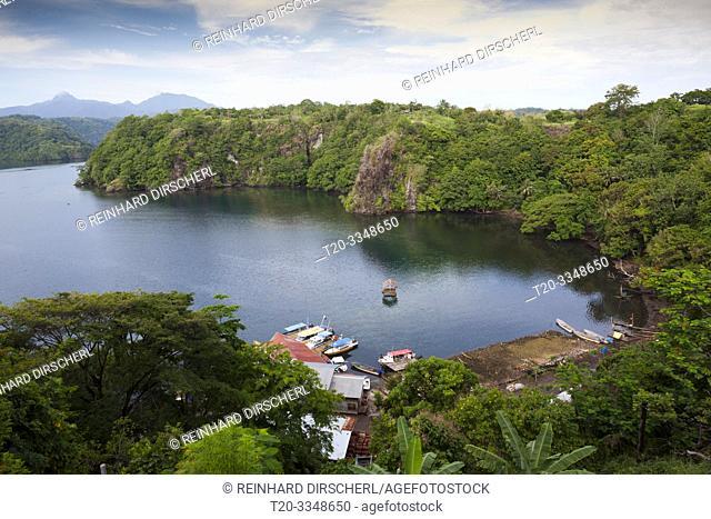 Tufi Harbor, Cape Nelson, Oro Province, Papua New Guinea