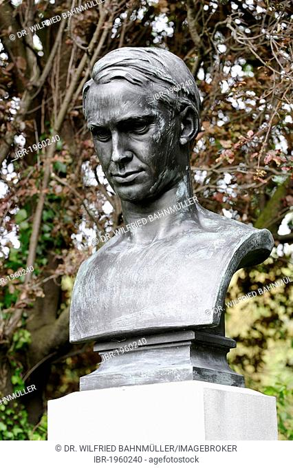 Thomas Michael Kettle, 1880 - 1916, Irish poet, writer, patriot, memorial, St. Stephan's Green, Dublin, Republic of Ireland, Europe, PublicGround