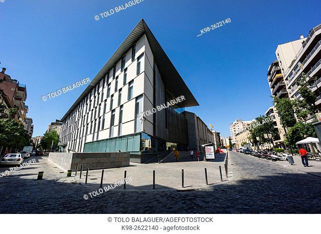 Edificio de la Generalitat de Catalunya , Girona, Catalunya, Spain