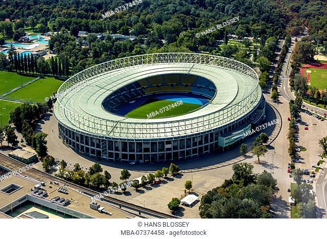 Aerial view, Ernst Happel Stadium, National Stadium Vienna, Vienna, Vienna, Austria
