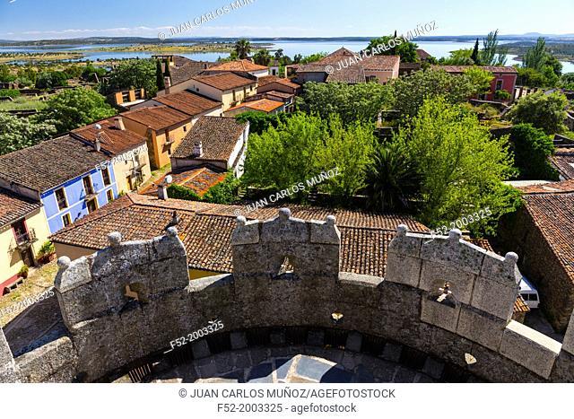 Castle of Granadilla, Granadilla, Ambroz Valley, Cáceres, Extremadura, Spain, Europe