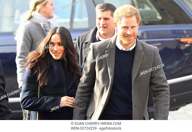 Prince Harry and Meghan Markle visit Social Bite in Edinburgh Featuring: Prince Harry, Meghan Markle Where: Edinburgh, Scotland