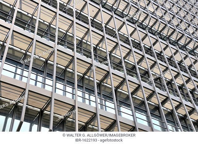 Building facade, European Patent Office, Munich, Bavaria, Germany, Europe