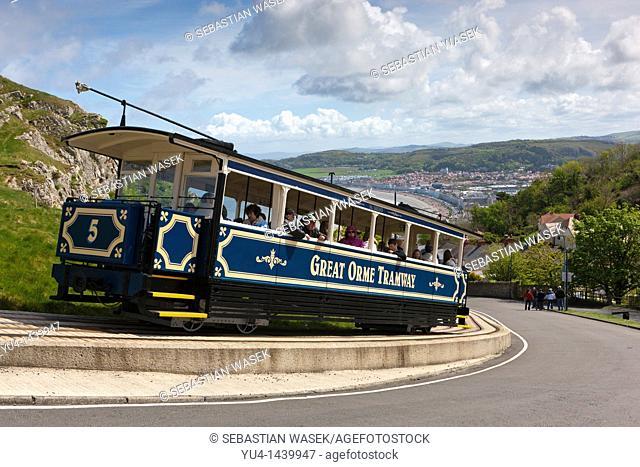 Great Orme Tramway Welsh: Tramffordd y Gogarth, Llandudno, Gwynedd