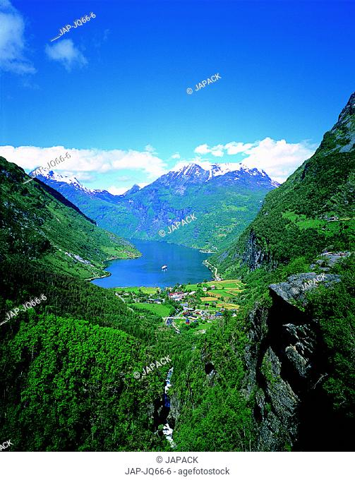 Gairanger Fiord, Norway