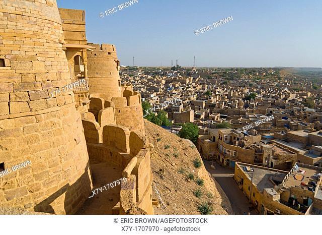 View of Jaisalmer from the Jaisalmer Fort, Jaisalmer, India