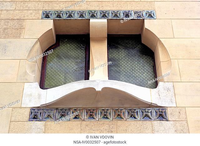 Villa Majorelle 1901, Art Nouveau building, Nancy, Meurthe-et-Moselle department, Lorraine, France