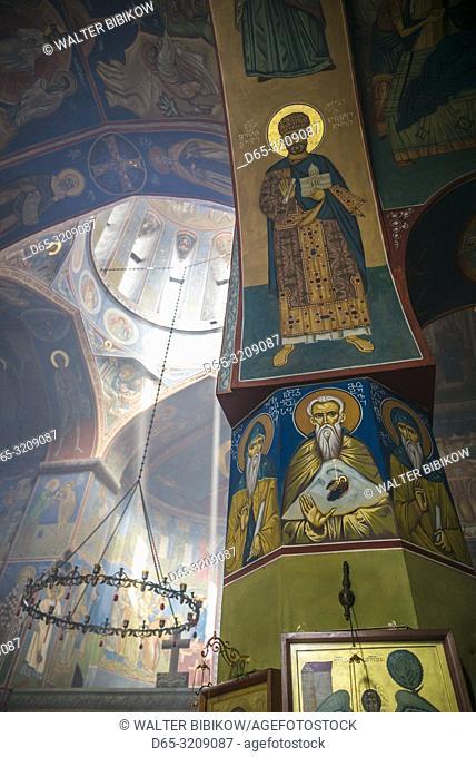 Georgia, Tbilisi, Old Town, St. Georgia Basilica, interior