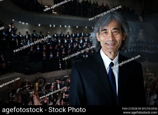 24 September 2021, Hamburg: Kent Nagano, General Music Director of the Hamburg State Opera and Chief Conductor of the Hamburg Philharmonic State Orchestra