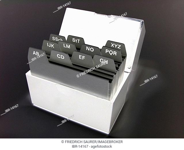 Card index box