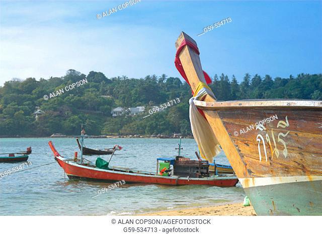 Thailand. Phuket. Hat Rawai (Rawai Beach)