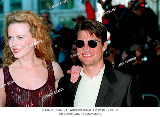 Tom Cruise & Nicole Kidman Actor & Actress Mission: Impossible Premiere, London West End, London, England 04 July 1996 Am 04.07