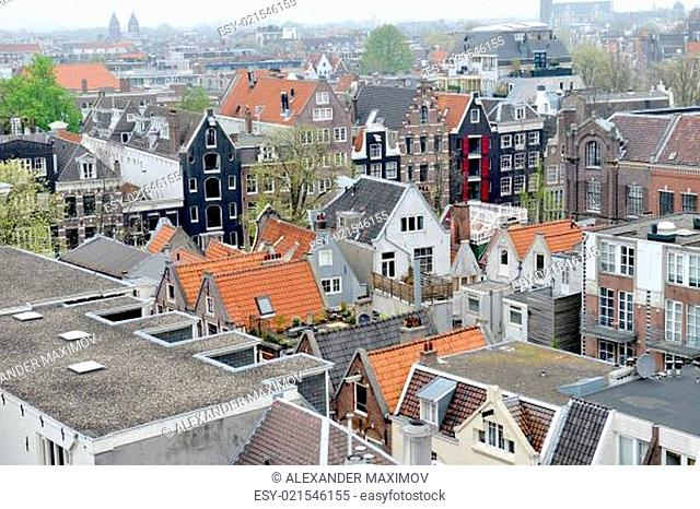 The roofs of Amsterdam