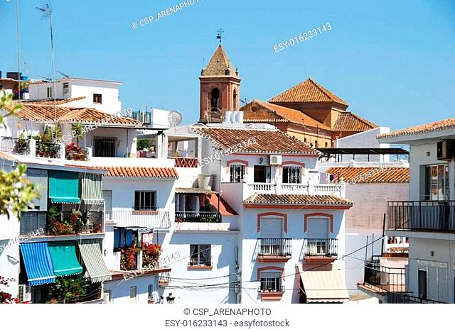 Town centre, Torrox, Andalusia