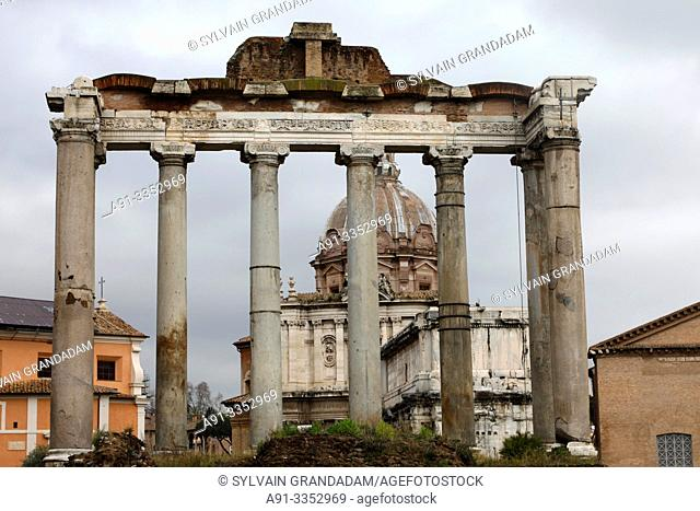Italy, city of Roma , the forum