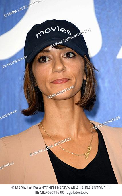 The director Ana Lily Amirpoured during the photocall of film The bad batch at 73rd Venice Film Festival, Venice-ITALY-06-09-2016