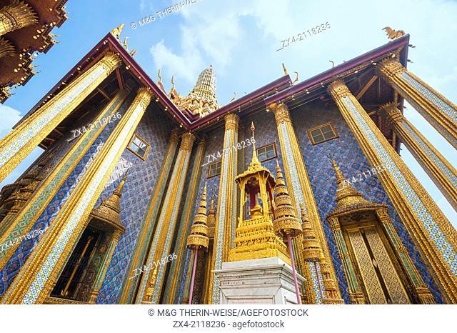 Phra Mondop in the Wat Phra Kaeo complex, Grand Palace, Bangkok, Thailand