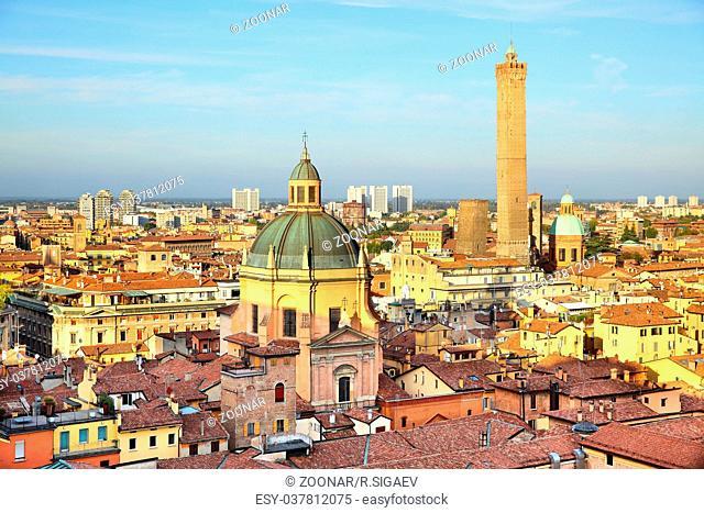 Vew of Bologna