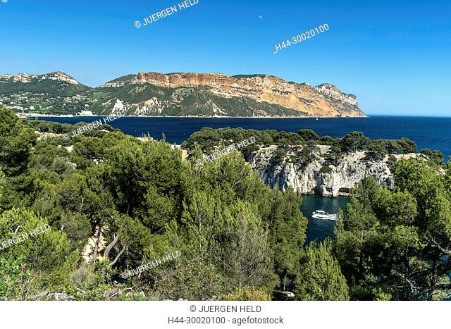 France, Cassis, Provence, Port Miou, Calanques