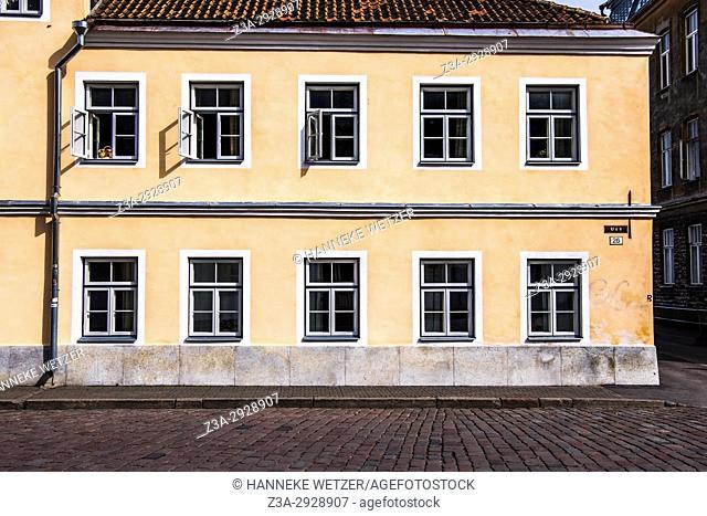 Traditional buildings in Tallinn, Estonia, Europe