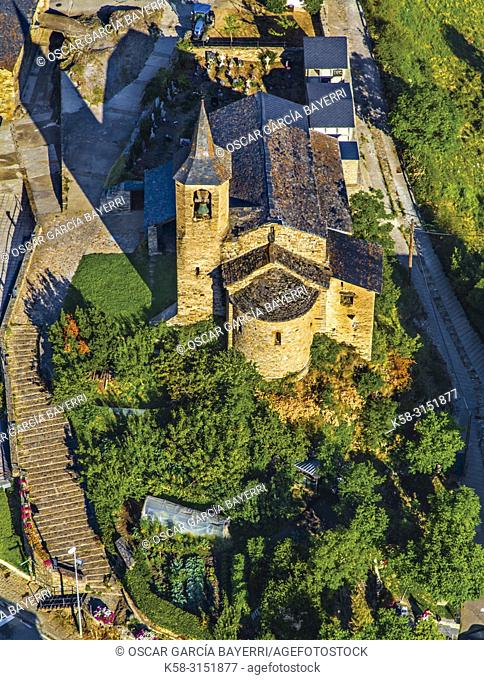 Church. Valencia d'Aneu, Lleida province, Catalonia, Spain