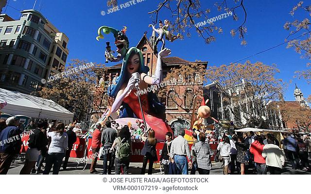 Spain, Valencia City, Festivities of San Jose