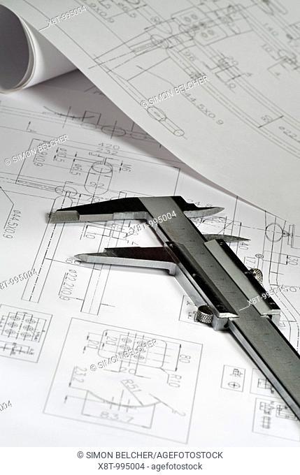 Vernier Calipers and Design Blueprints