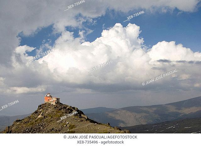 Former astronomical observatory, Sierra Nevada National Park. Granada province, Andalucia, Spain