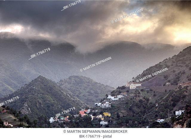 Vallehermoso, La Gomera, Canary Islands, Spain, Europe