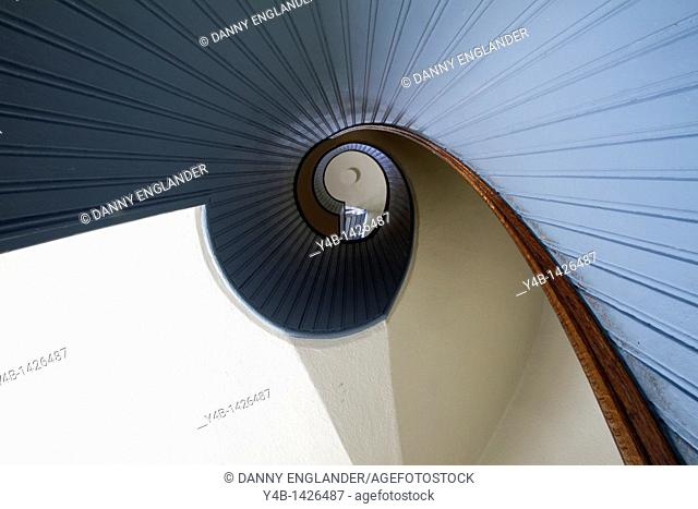 Spiral Staircase, Old Point Loma Lighthouse