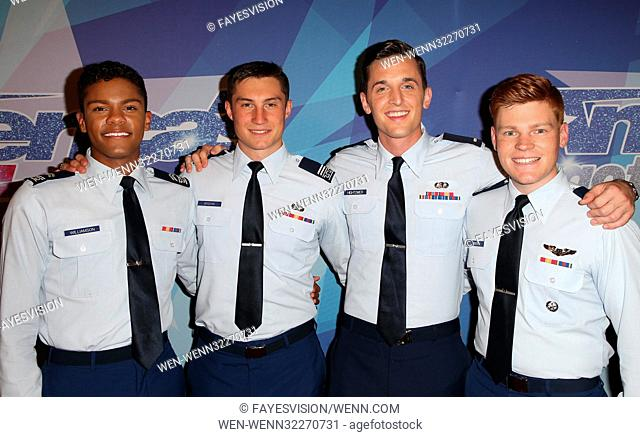 NBC's 'America's Got Talent' Season 12 Live Show Semi Final Featuring: In The Stairwell Where: Hollywood, California, United States When: 13 Sep 2017 Credit:...