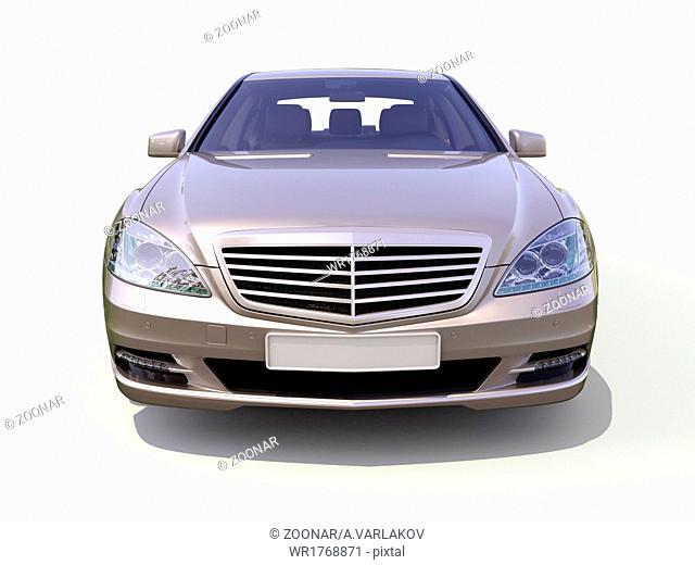 Modern luxury executive car