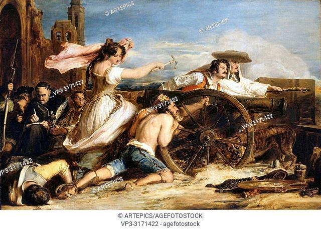 Wilkie Sir David - the Defence of Saragossa