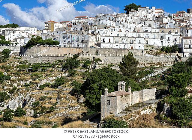 Monte Saint'Angelo on the Gargano Peninsula, Puglia, Southern Italy