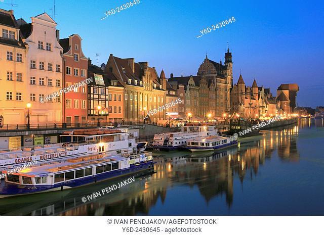 Gdansk at Dusk, Poland