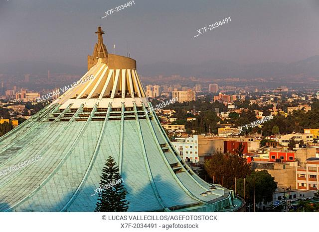 Dome of New Basilica Our Lady of Guadalupe, Mexico City, Mexico