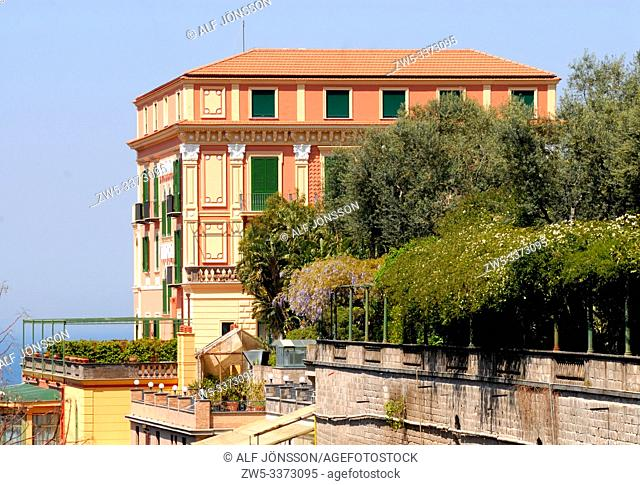 Hotel building in Sorrento, Campania, Italy