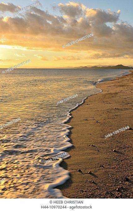 Mexico, North America, Baja, Baja California, Los Barriles sea, beach, surf, sea of Cortez, southern, sea