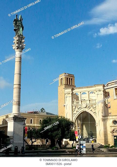 Lecce, Italy, Sant'Oronzo square