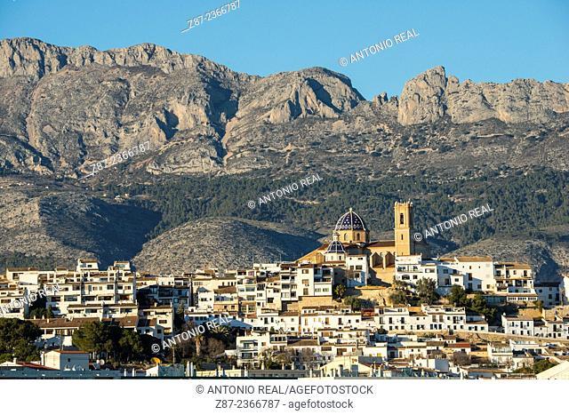 Altea and Sierra de Bernia, Alicante province, Comunidad Valenciana, Spain