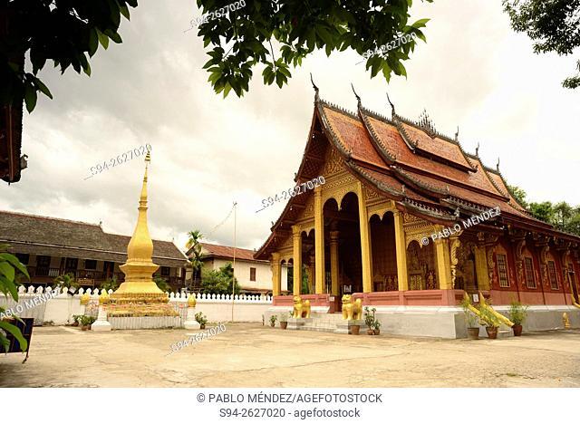 Wat Sensoukaram of Luang Prabang, Laos