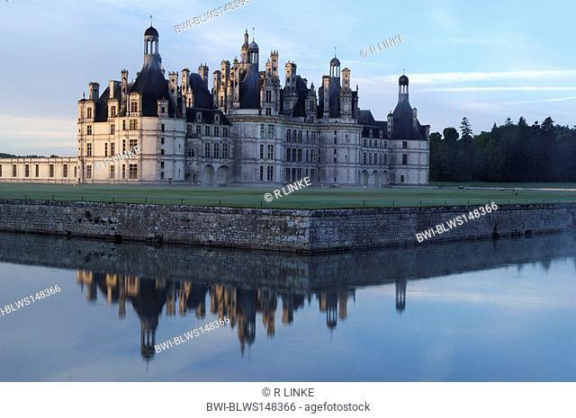 Castle Chambord, France, Blois
