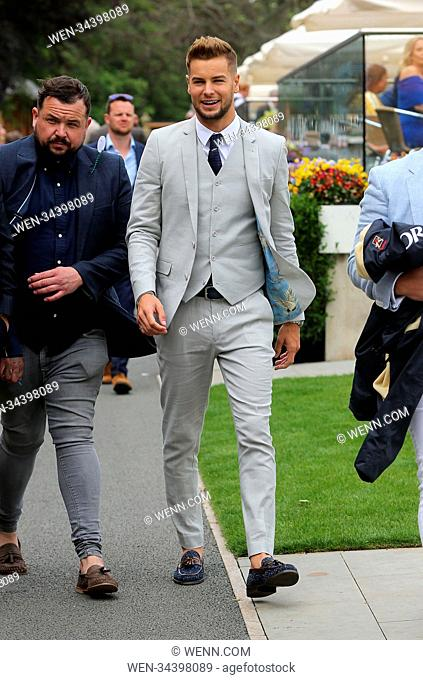 MacMillan Charity Raceday at York Racecourse in York.LOVE ISLAND'S CHRIS HUGHES 3-1 FAVOURITE TO WIN HORSE RACE  The former Love Island star is well-known as a...