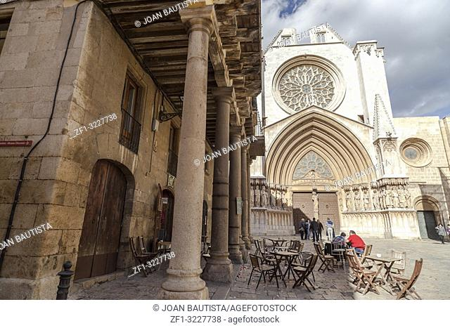 Cathedral, gothic style in Tarragona,Spain