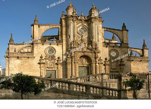 San Salvador Cathedral, Jerez de la Frontera, Cadiz-provincia, Spain