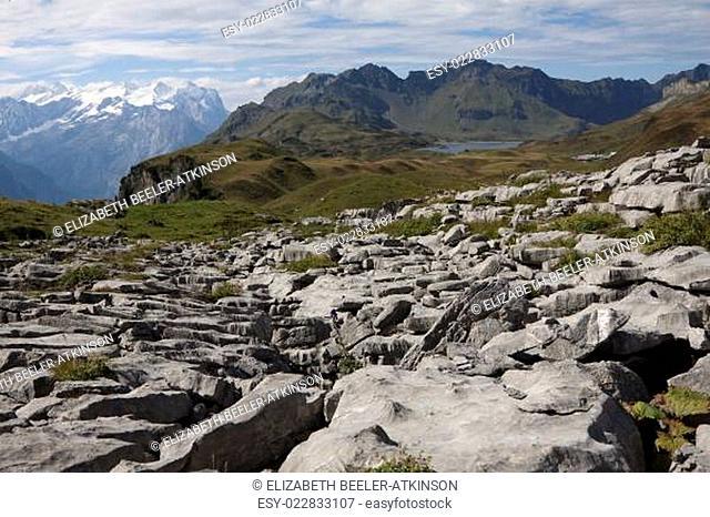 Karstgebiet oberhalb Tannensee, Zentralschweiz