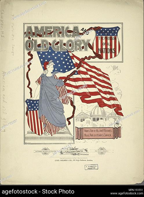 America and old glory Additional title: My country 'tis of thee. [first line]. Barnes, William H. (Arranger) Sawyer, Henry S. (Arranger)