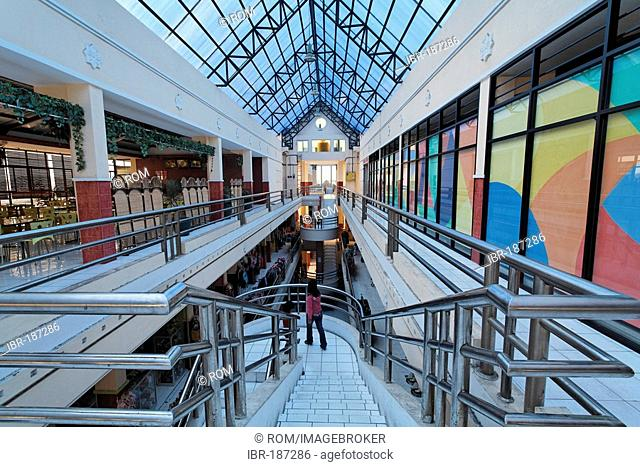 Market-hall and shopping centre in Pangkalanbun, Central-Kalimantan, Borneo, Indonesia